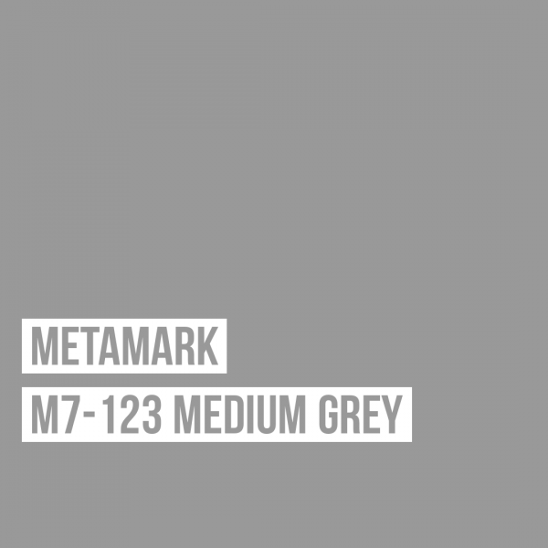 Metamark M7 - 123 Medium Grey / Grau