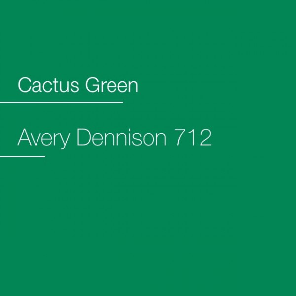 Avery 700-712 Cactus Green Premium Film