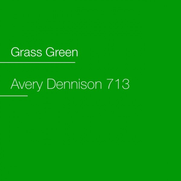 Avery 700-713 Grass Green Premium Film
