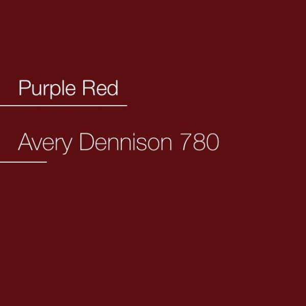 Avery 700-780 Purple Red Premium Film