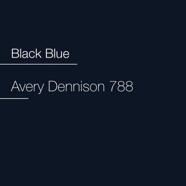 Avery 700-788 Black Blue Premium Film