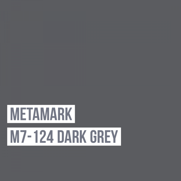 Metamark M7 - 124 Dark Grey / Grau