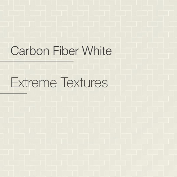 Avery Carbon Fibre White Textured | AS1850001