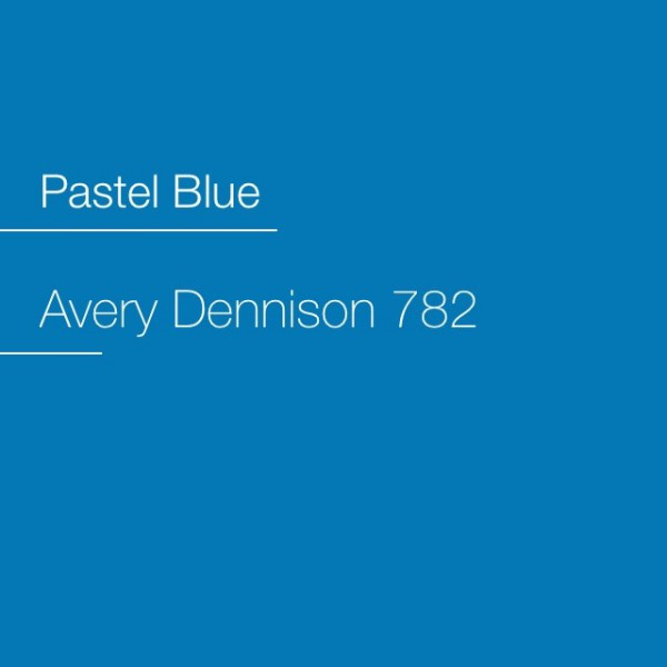 Avery 700-782 Pastel Blue Premium Film