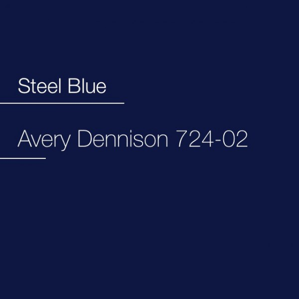 Avery 700-724-02 Steel Blue Premium Film