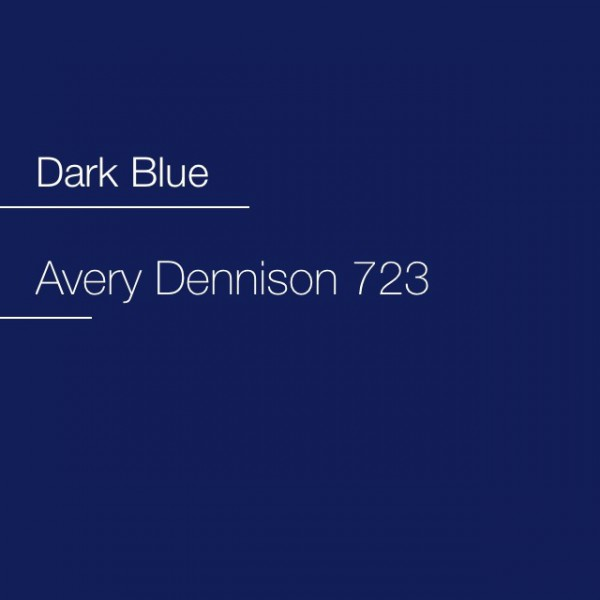 Avery 700-723 Dark Blue Premium Film