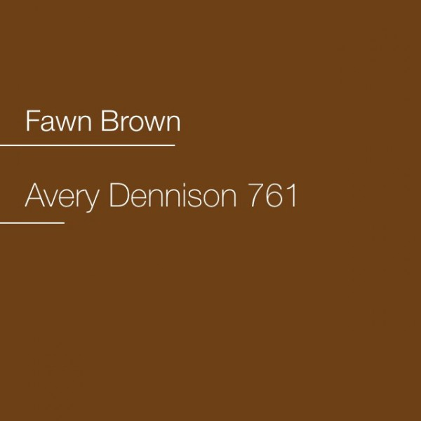 Avery 700-761 Fawn Brown Premium Film
