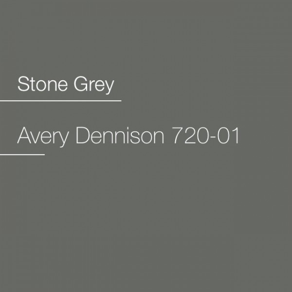 Avery 700-720-01 Stone Grey Premium Film