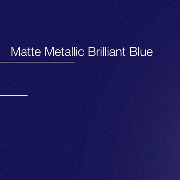 Avery Brilliant Blue Matte Metallic | AS9090001