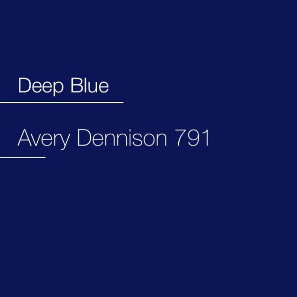 Avery 700-791 Deep Blue Premium Film