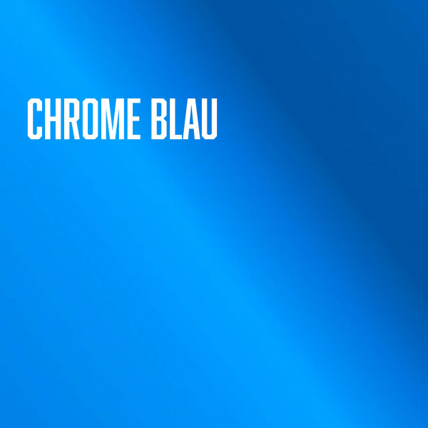 Avery Blue / Blau Conform Chrome | Supreme Wrapping Film