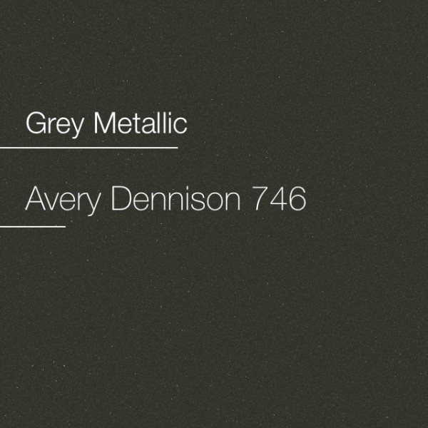 Avery 700-746 Grey Metallic Premium Film