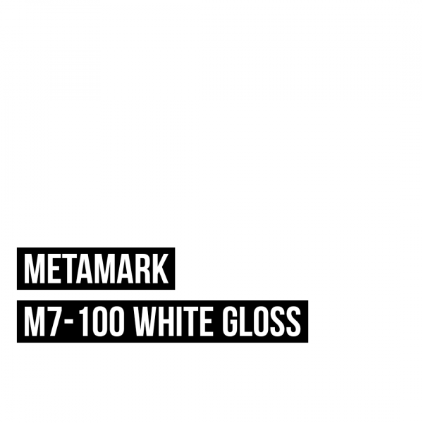 Metamark M7 - 100 White Gloss / Weiß