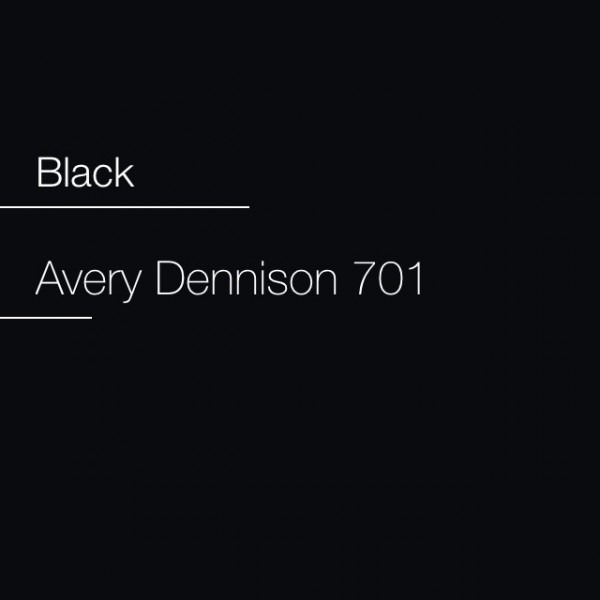 Avery 700-701 Black Premium Film