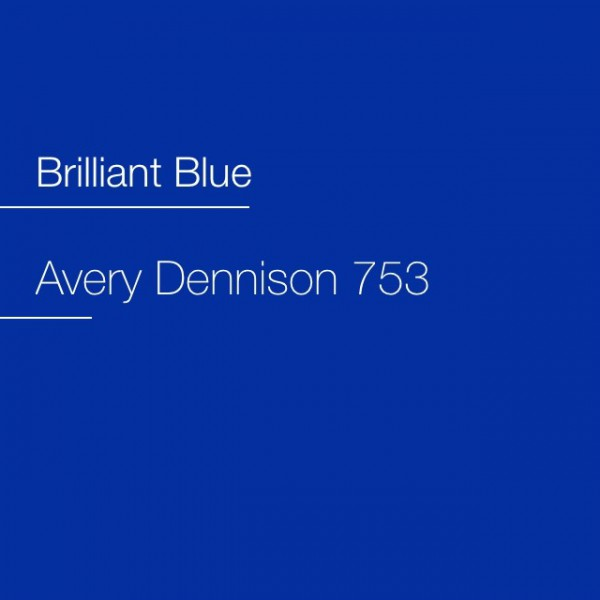 Avery 700-753 Brilliant Blue Premium Film