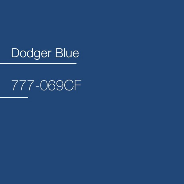Avery 777-069CF Dodger Blue