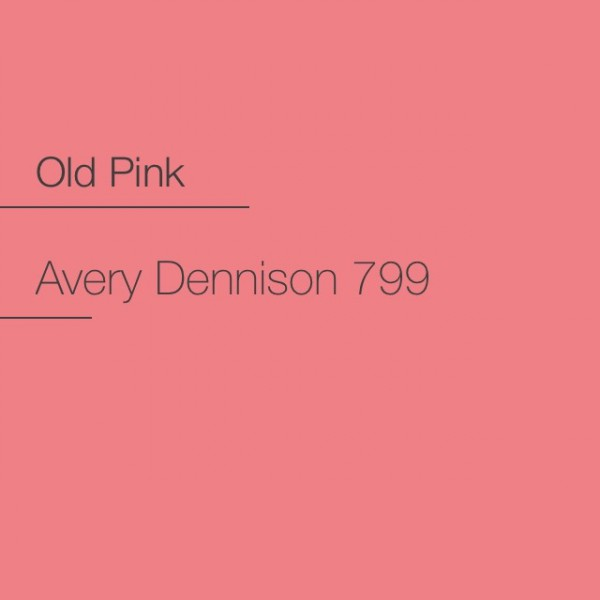 Avery 700-799 Old Pink Premium Film