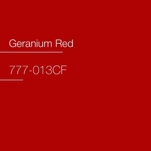 Avery 777-013CF Geranium Red