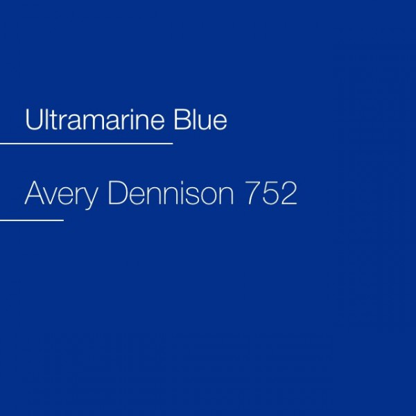 Avery 700-752 Ultramarine Blue Premium Film