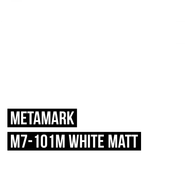 Metamark M7 - 101 White Matt / Weiß