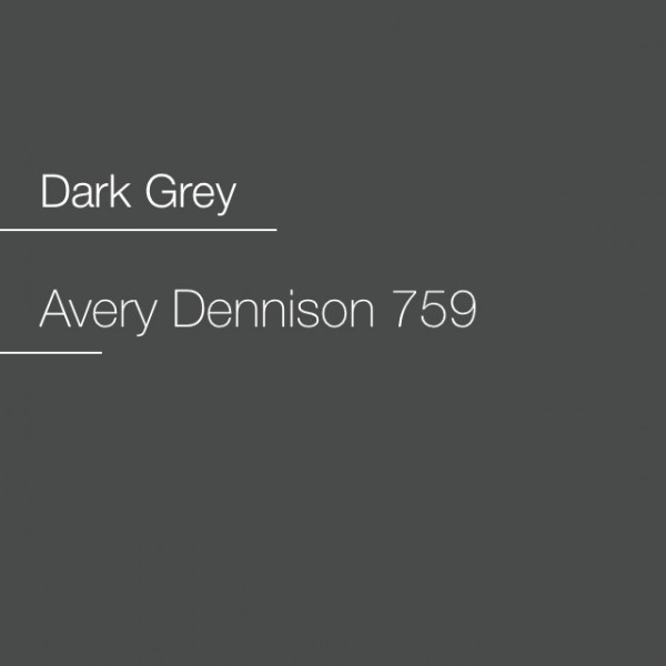 Avery 700-759 Dark Grey Premium Film